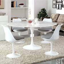 Shop Lippa Round Marble Dining Table White Free Shipping Lippa Round