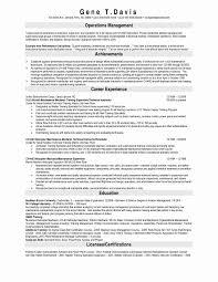 Plumbing Supervisor Resume Sample Inspirational Master Resume