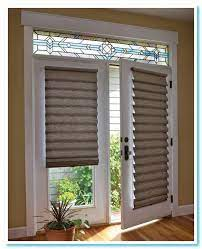 patio single door blinds