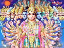 Lord Vishnu Wallpaper HD