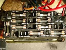 fuse panel detailed description or 1976 Corvette Fuse Box Connectors Main Fuse C3 Corvette