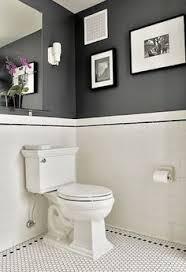 black and white bathroom tiles. Bathroom Wall Color? For Guest BathBlack White And Tiles E