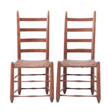 What is shaker style furniture Amish Furniture 19th Century Shakerstyle Chairs Ebth Ca 19th Century Shakerstyle Chairs Ebth