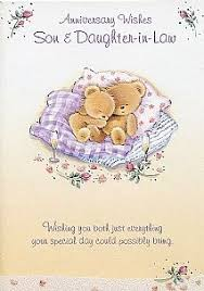 a daughter and son in law anniversary card cards pinterest Wedding Card Verses For Son And Daughter In Law weddings, anniversary & engagement cards, family anniversary cards, son & daughter in wedding card messages for son and daughter in law
