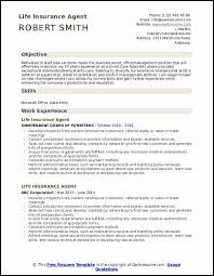 Resume For Life Insurance Agent Civil Engineering Society