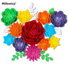 online get cheap 3d wall flowers wedding aliexpress com alibaba