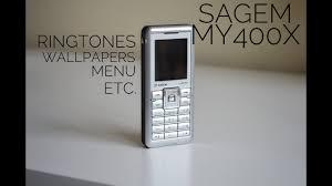 Sagem My400x - Ringtones