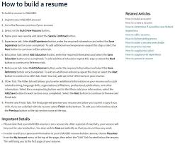 Virtual Resumes How To Apply