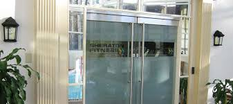 glass front doors for business los angeles commercial glass orange