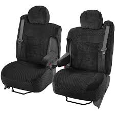BDK Pickup Truck Seat Covers with Arm Rest and Built In Seat Belt ...