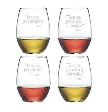 report funny stemless wine glasses canada
