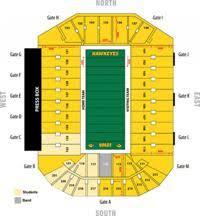Kinnick Stadium Rows Seating Chart Kinnick Stadium Seating Chart Iowa Hawkeyes Football