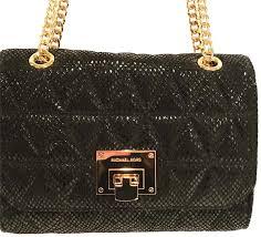 MICHAEL Michael Kors Vivianne Quilted Black Leather Shoulder Bag ... & MICHAEL Michael Kors Vivianne Quilted Black Leather Shoulder Bag - Tradesy Adamdwight.com