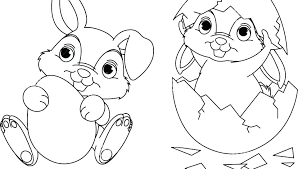 Kids Easter Coloring Pages Happy Easter Coloring Page For Kids Free
