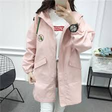 2018 new women fashion trench coat o neck collar long autumn sweet girl school wear solid color slim coats from vikey10 40 09 dhgate com