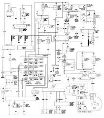 1986 chevy s10 the wiring harness diagram engine partment and