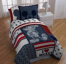disney mickey mouse americana 5 piece bed in a bag comforter set