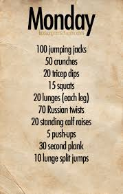 the great thing about these workouts is that you can spread them out and do them over the day i personally prefer to devote nap time to working out so i