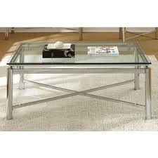 glass coffee table. Oliver \u0026 James Jules Chrome And Glass Coffee Table