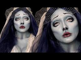 halloween corpse bride makeup tutorial