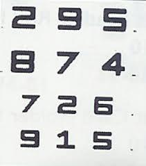 Feinbloom Low Vision Test Distance View Details