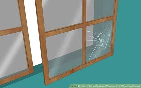 how to fix a broken window in wooden frame 13 steps