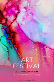 Art Event Flyer Art Festival Event Flyer Template Postermywall