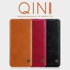 <b>Чехол</b>-<b>книжка Nillkin QIN</b> для OnePlus 7 Pro (Черная)