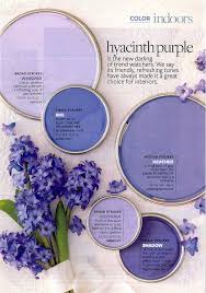 Hyacinth Purple Paints--if I could ever convince my husband to agree to  purple