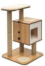 free cat condo plans modern shelves make real diy tree the refined feline lotus tower trees