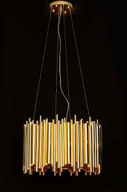 Bauhaus Led Kronleuchter Gold Neuerraum