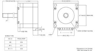 linear actuator linear stepper motor nema 23 linear actuator 23e stepper motor wiring color code at Nema 23 Stepper Motor Wiring Diagram