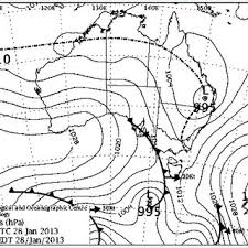 Synoptic Chart Showing The Position Of Ex Tc Oswald 11 00