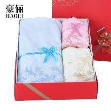 hao li a couple of three sets of bath towel bath towel towel towel gift