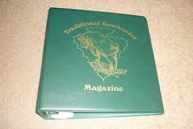 Binder Magazine Holders Traditional Bowhunter Magazine 100 Ring Binder 100 plastic magazine 38