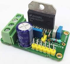 amp h bridge dc motor driver using mc electronics lab lmd18200 h bridge module for dc motor