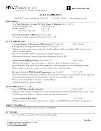 Resume Experience Order Resume Work Template