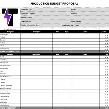 Best Budget Templates Create A Production Budget Like A Pro