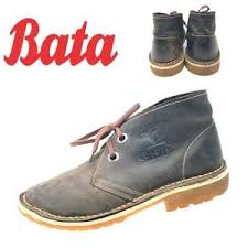 Bata Kenya Safari Mens Chukka Boots Brown Sz 8 5