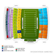 Infocision Stadium Summa Field 2019 Seating Chart