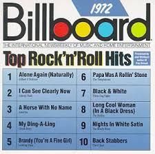 1972 Music Charts Billboard Album Collections Billboard Top Hits 70 79