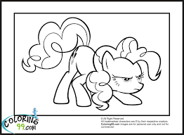 Mlp Funny Pinkie Pie Coloring Pages