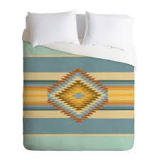 deny designs fiesta vintage multicolored king duvet cover