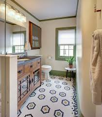 vintage craftsman guest bathcraftsman bathroom new york