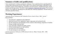 Generator Repair Sample Resume Mechanic Resume Example Generator Repair Sample Usps Job Description 93