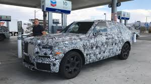 SPIED: Rolls Royce Cullinan caught testing in California