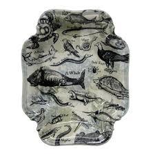 Camouflage Dishes Sea Life Serving Dish Wanderlust Ceramics