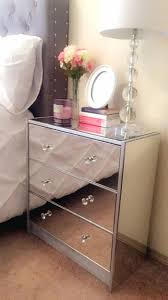cb2 bedroom furniture. Creative Glass Mirrored Nightstand Applied To Your House Design: Furniture ~ Cb2 Bedside Table Bedroom