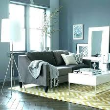 blue grey couch dark