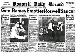 Image result for roswell daily record july 8 1947